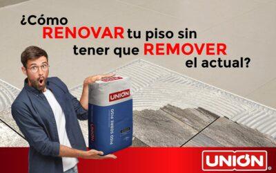 ¿Cómo renovar tu piso sin tener que remover el actual?